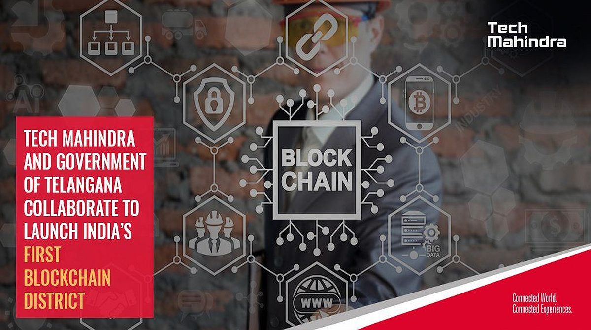 Blockchain District, Telangana, Tech Mahindra