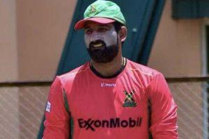 Pakistani bowler Sohail Tanvir gesture after dismissing Ben Cutting draws flak
