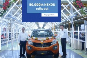 50,000th Tata Nexon rolls out of Ranjangaon facility
