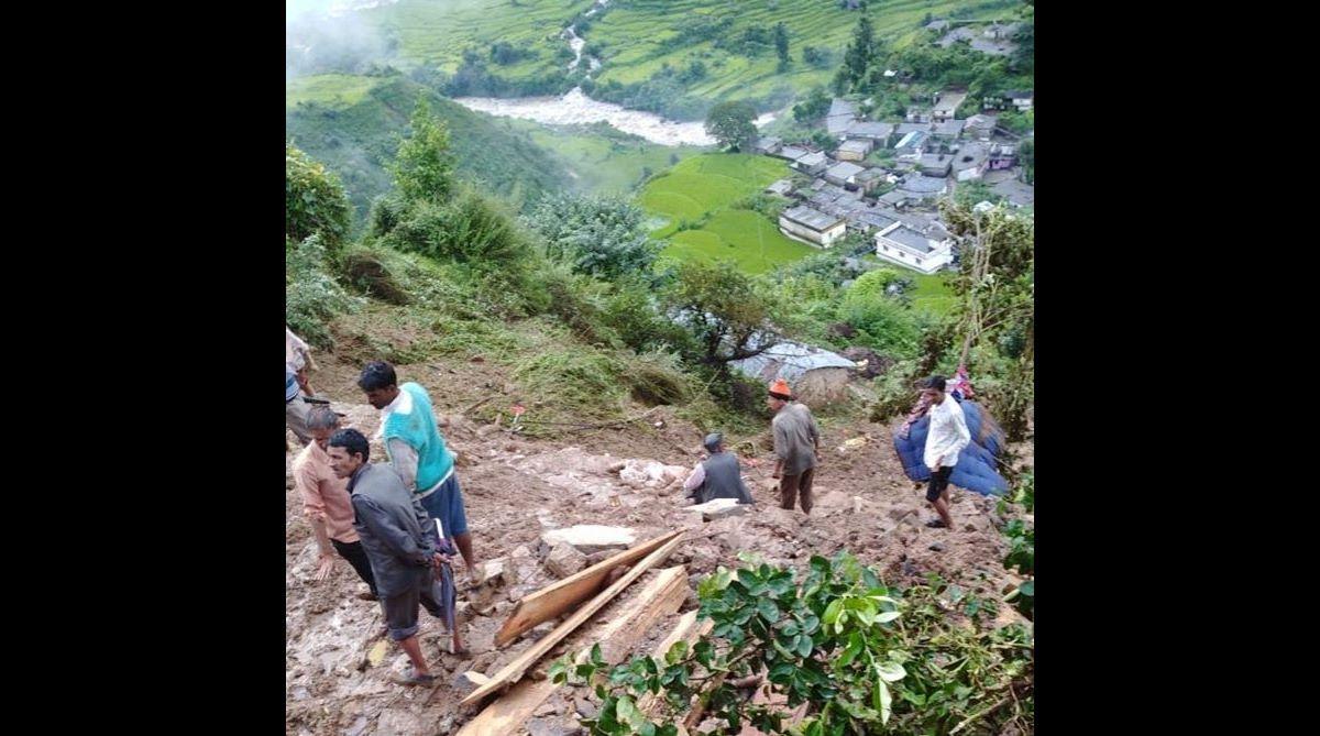 Tehri landslide