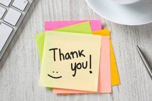 Simple 'thank you' notes can boost your emotional well being