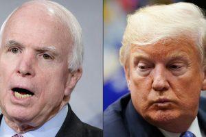 John McCain and Donald Trump: No love lost