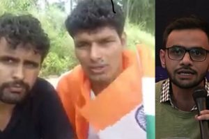 Police detain duo who claimed responsibility for attack on Umar Khalid