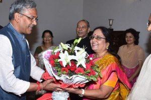 Uttarakhand Governor Baby Rani Maurya takes oath of office