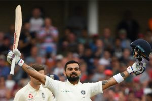 India vs England, 3rd Test: Led by centurion Virat Kohli, visitors set daunting target