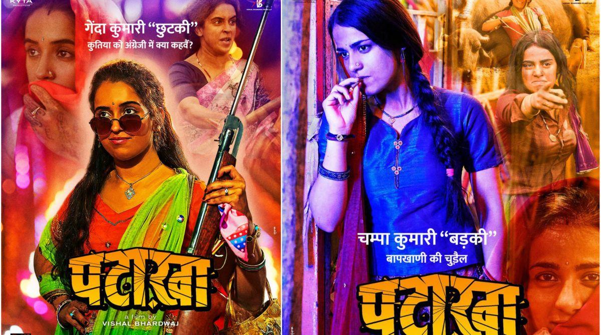 Sanya Malhotra, Radhika Madaan, Vishal Bharadwaj, Pataakha