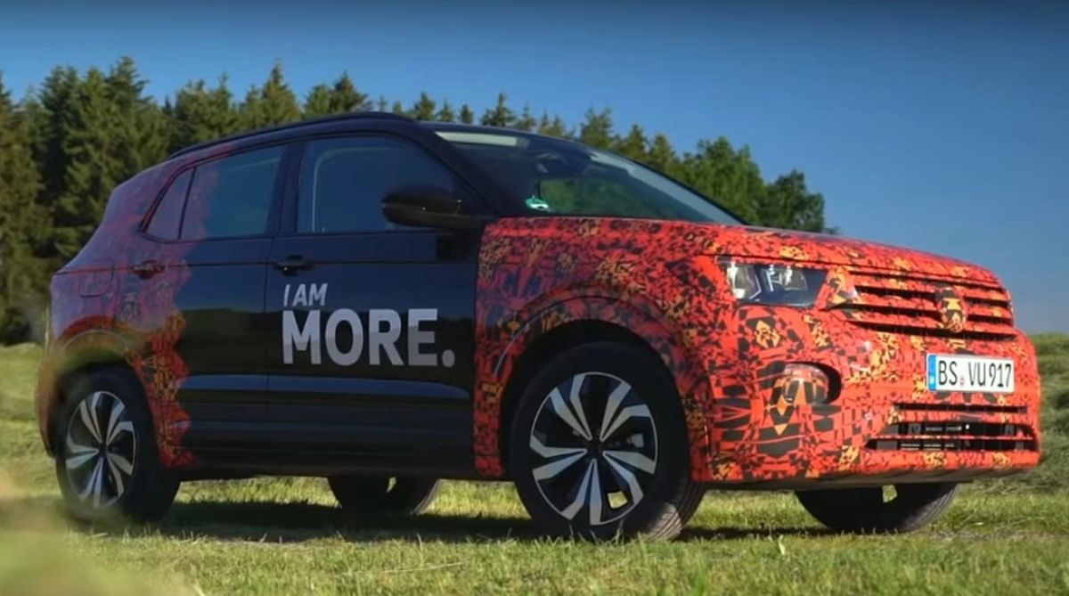 Volkswagen T-Cross based on Virtus Spied; most likely to come to India
