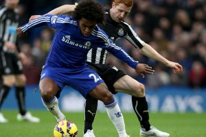 Chelsea winger Willian emphatically ends transfer rumours