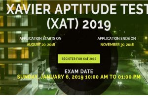 XAT 2019 registration starts today at xatonline.in | Apply online