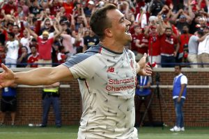 Watch: Liverpool new boy Xherdan Shaqiri's exquisite finish in training