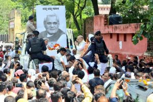 BJP to hold events in memory of Atal Bihari Vajpayee