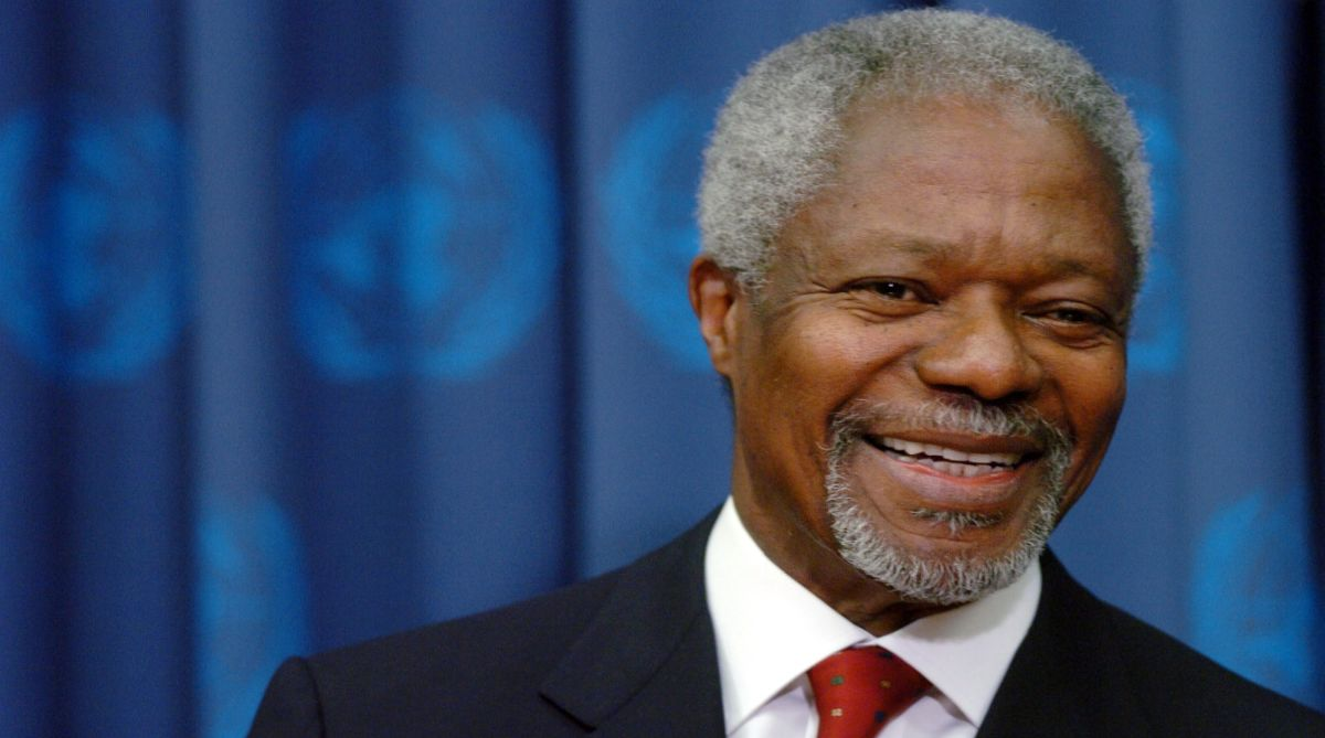 Kofi Annan, United Nations, Antonio Guterres, Nobel Peace Prize, Secretary-General, sub-Saharan African, human rights