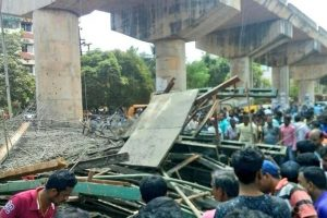 External impact may have caused flyover collapse: L-T