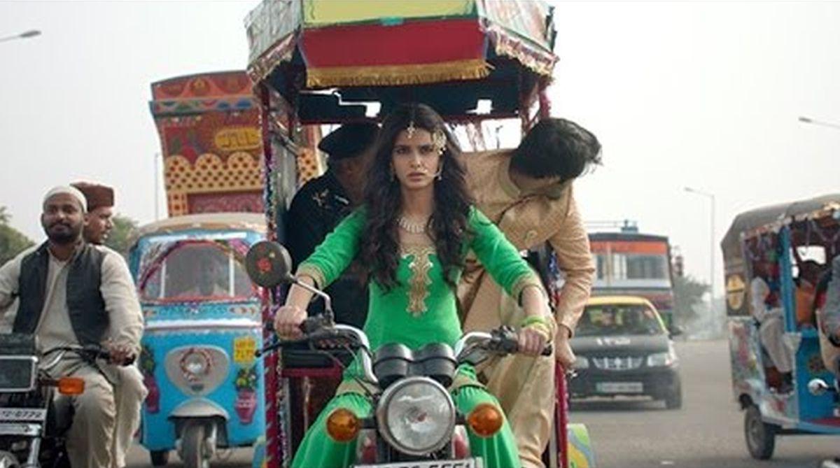 Fun on the sets of 'Happy Phir Bhaag Jayegi'
