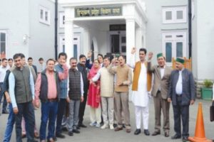 Cong MLAs stage walkout from HP House over denial of debate on SC, ST issues
