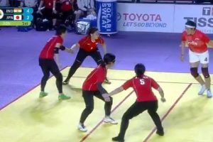 Indian women crush Japan in kabaddi for contingent's first win