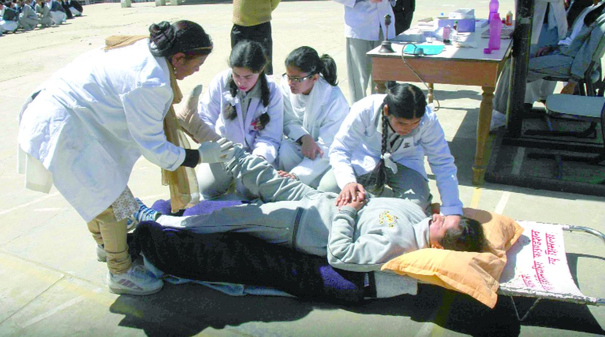 mock drills, Himachal Pradesh, Diksha Malhotra, NDMA, Kovai Kalaimgal College of Arts and Science, Disaster Management