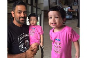Watch| Here is what Ziva said when Sakshi Dhoni asked MS Dhoni good or bad