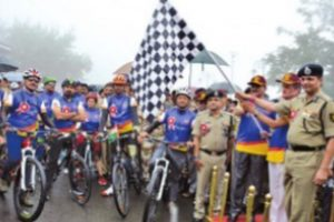 Para-cycling expedition 'Infinity Ride~2018' flagged off from Shimla