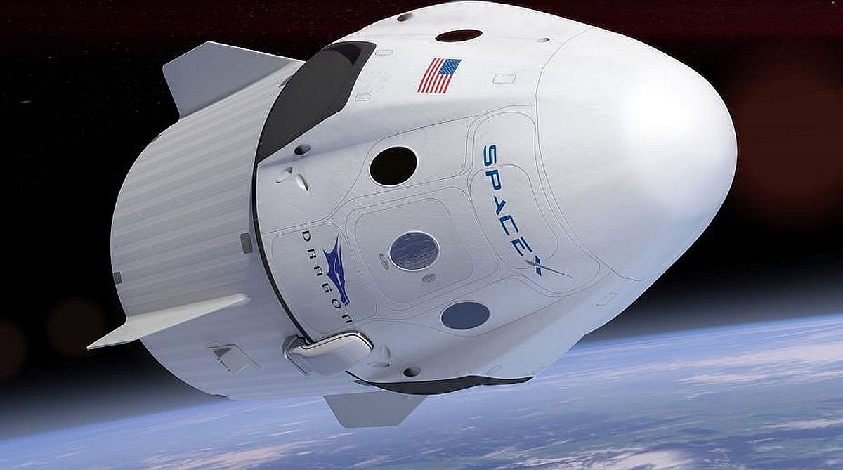 SpaceX Dragon cargo spacecraft to return to Earth