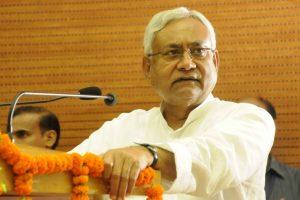 Student throws sandal at Bihar CM Nitish Kumar