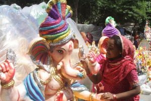 Preparations for Ganesh Chaturthi in full swing