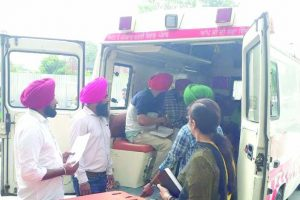 'Poorly maintained Punjab ambulances need treatment'
