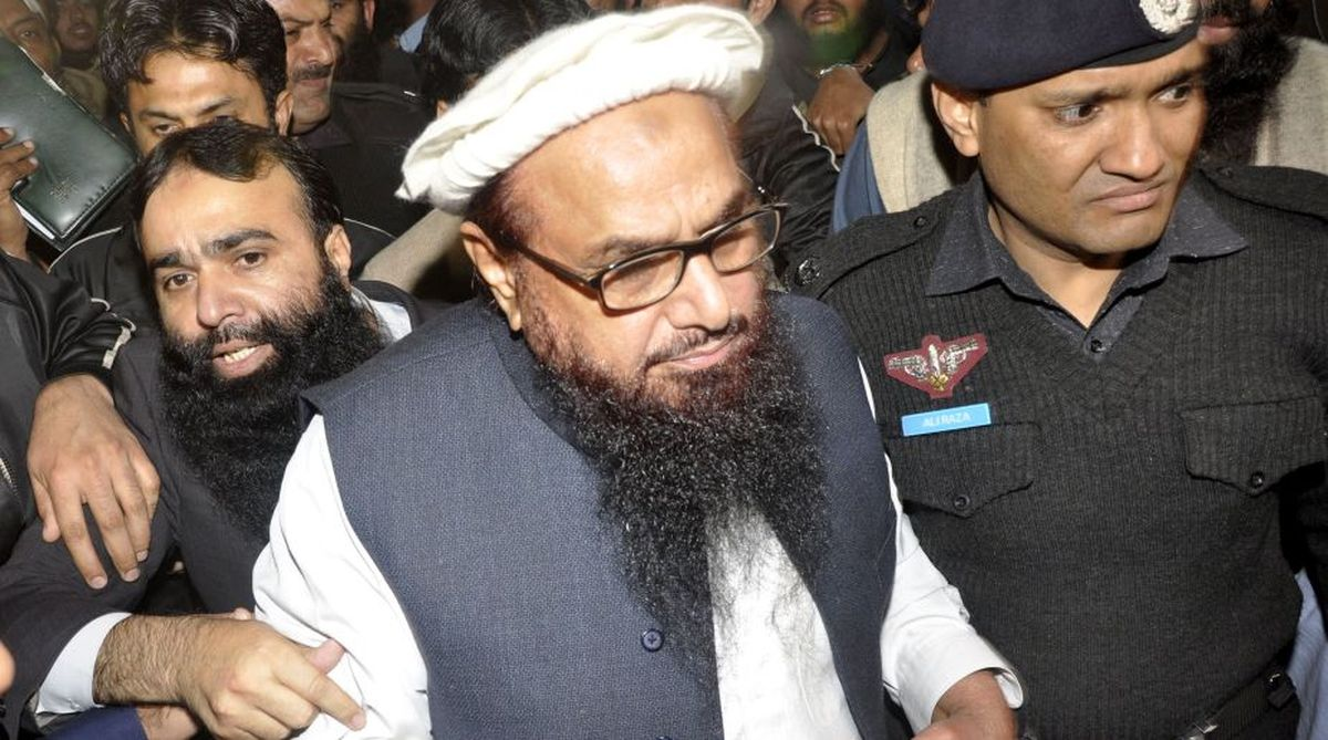 Pakistan detained Hafiz Saeed, leader of LeT in January 2017