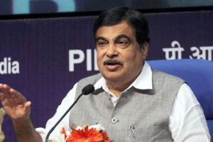 Nitin Gadkari collapses on stage, condition stable