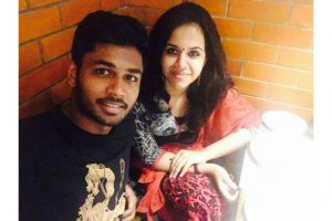 Sanju Samson set to tie the knot with college sweetheart in December
