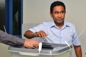 Maldives strongman Yameen seeks second term amid rigging fears