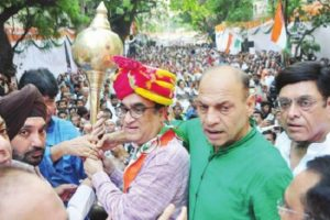 Congress threatens 'jail bharo' agitation over 'illegal' sealing