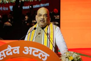 Amit Shah meets party leaders, no breakthrough on Goa leadership