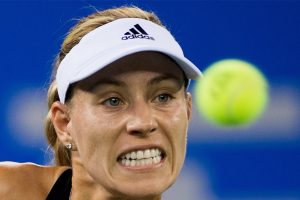 Angelique Kerber beats injured Madison Keys, advances at Wuhan Open