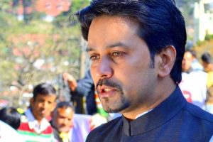 Anurag Thakur seeks Centre's help for rain-hit Himachal