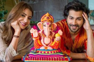 Ganesh Chaturthi 2018: Anushka Sharma and Varun Dhawan promote eco-friendly Ganesha