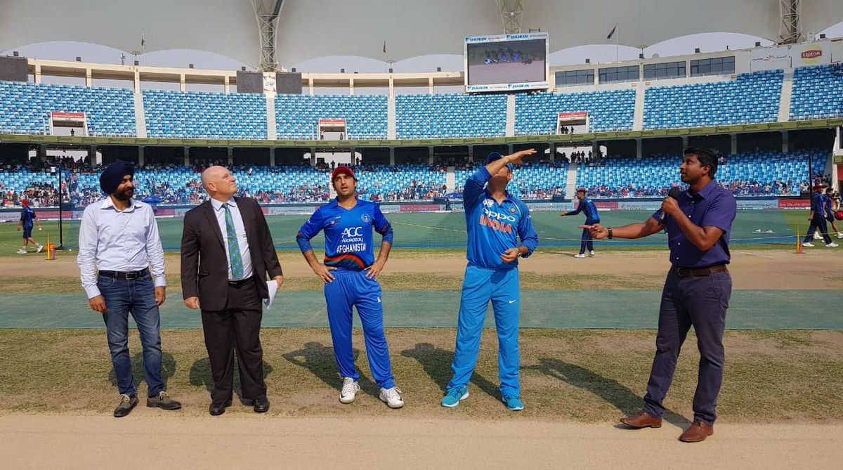 Asia Cup 2018: MS Dhoni leads India; Afghanistan opts to bat first