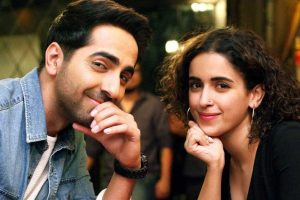 Ayushmann Khurrana, Sanya Malhotra to reveal Khush Khabri with 'Badhaai Ho' trailer
