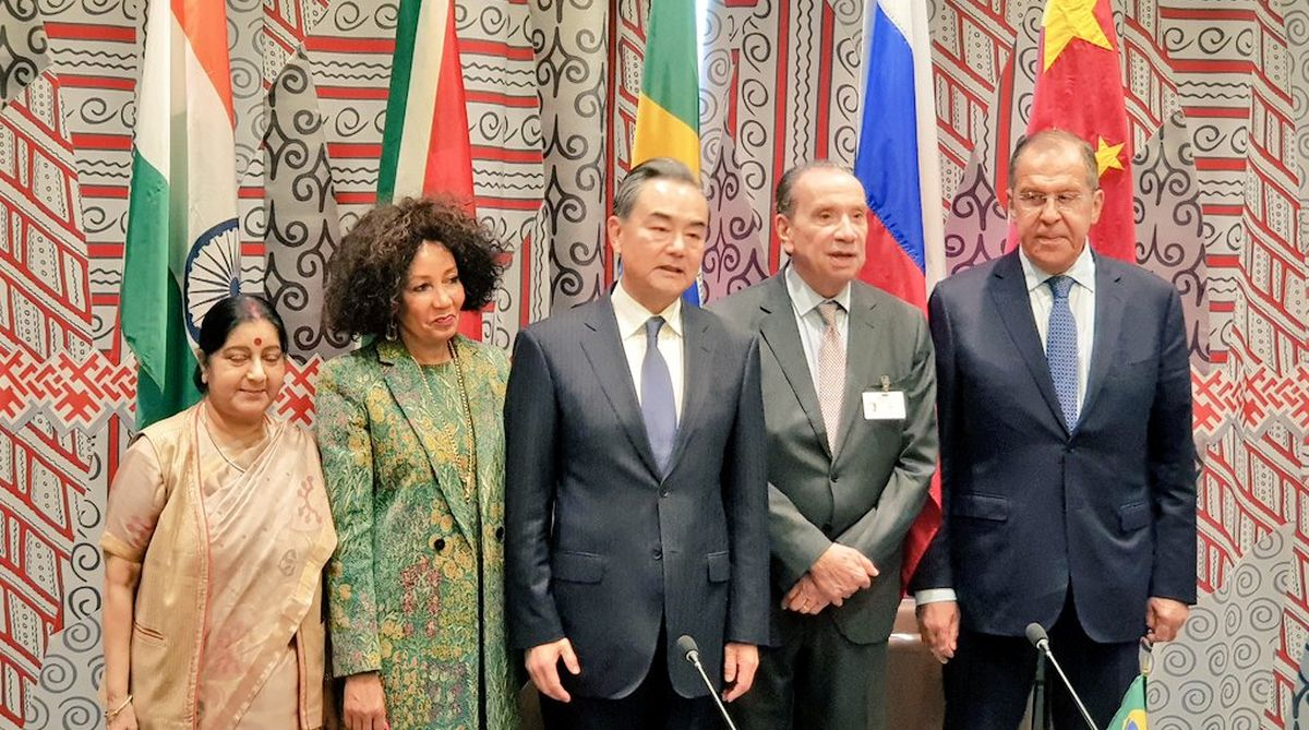 BRICS members, BRICS, multilateralism, Foreign ministers, UN General Assembly