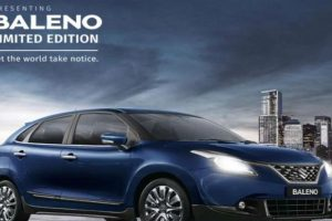 Maruti Suzuki rolls out limited edition Baleno