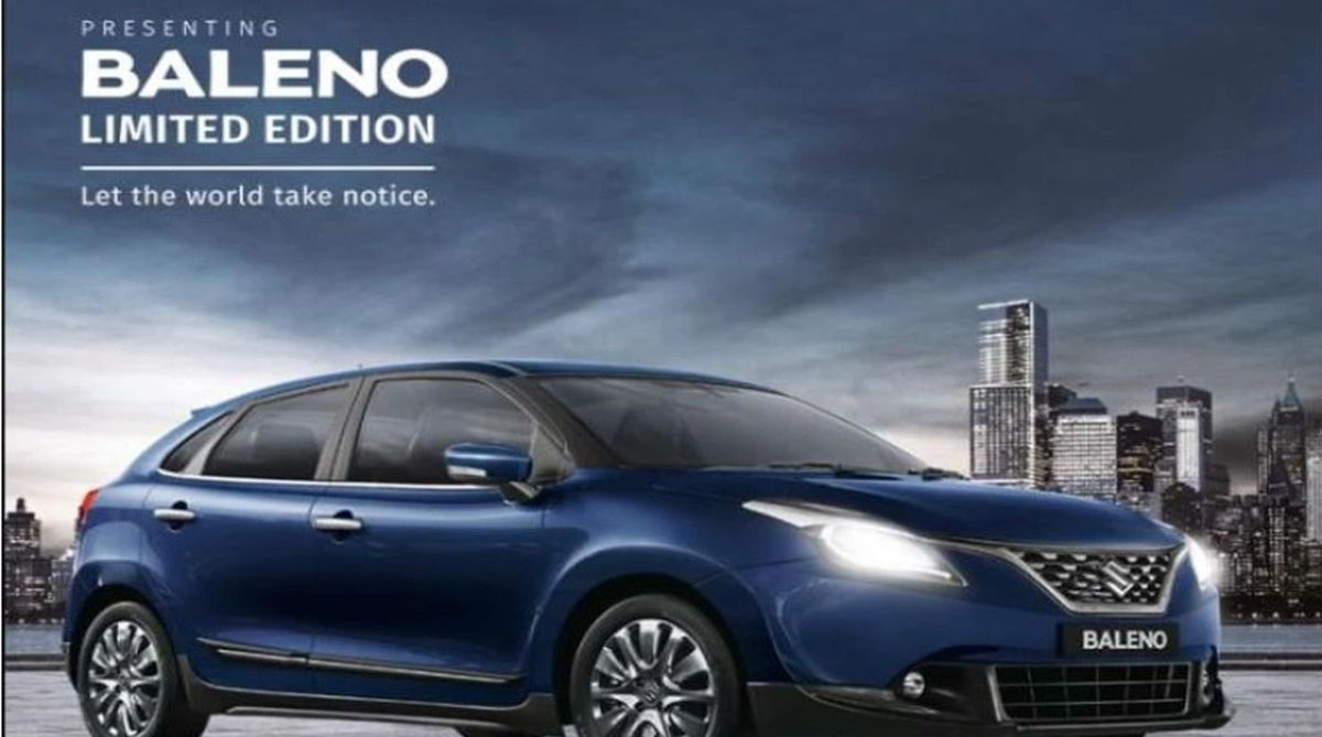 Maruti Suzuki rolls out limited edition Baleno