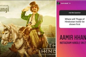 Thugs ofHindostantrailer to be unveiled by Aamir Khan on Instagram