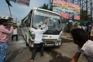 Bharat Bandh: Violence breaks out in some states | Trains, bus services affected