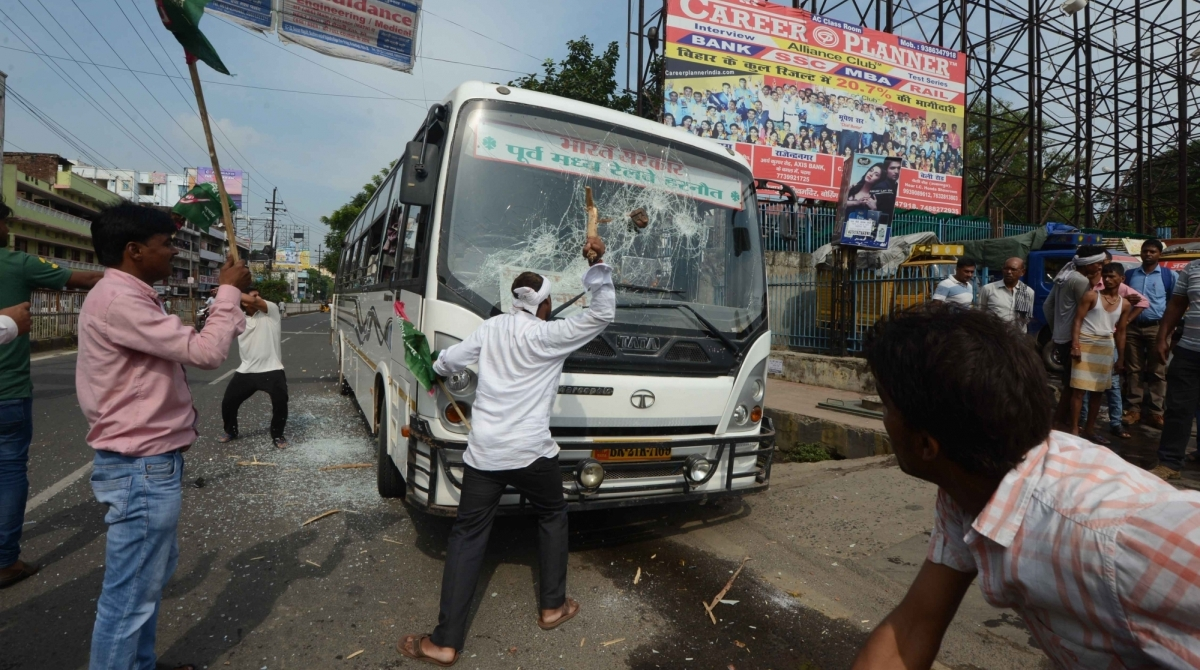 Bharat Bandh, Violence, Trains, Bus services, Congress