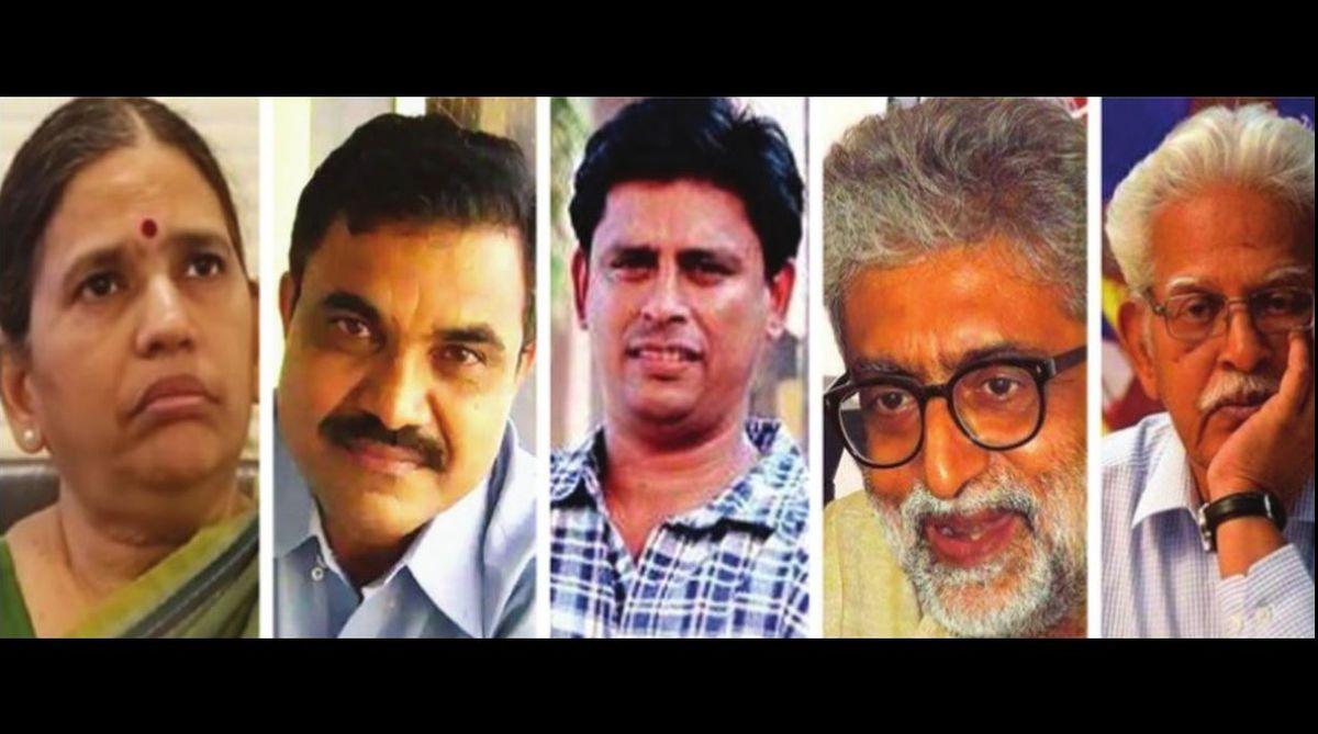 human rights activists, Sudha Bhardwaj,Vernon Gonsalves,Varavara Rao,Gautam Navlakha,Arun Ferreira,Bhima-Koregaon violence,Dalits,Urban Naxal,Maoist,Maharashtra government, Section 124A,Supreme Court