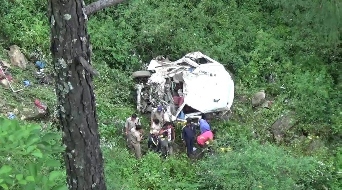 Bus Accident Uttarkashi