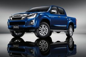 2019 Isuzu D-Max V-Cross facelift spied for the first time in India