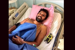 First images of Cdr Abhilash Tomy after rescue show him hale and hearty