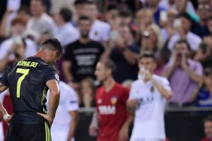 UEFA Champions League | Cristiano Ronaldo sent off but 10-man Juventus ease past Valencia