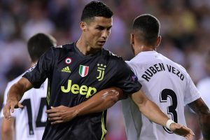 Tearful Cristiano Ronaldo picks himself up for Juve trip to Frosinone